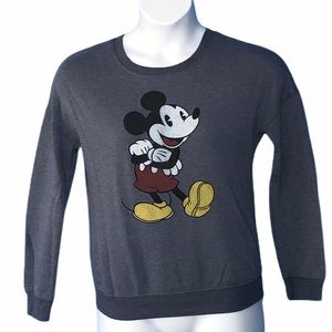 Disney Mickey Mouse Small purple sweatshirt